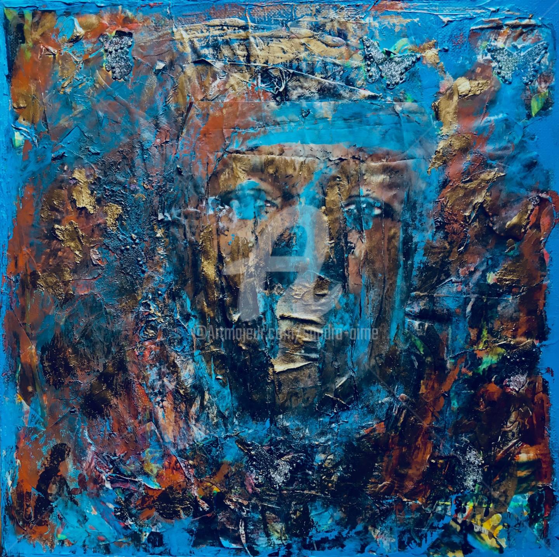 Sandra Aime - «Hermès Bleu de Sienne»