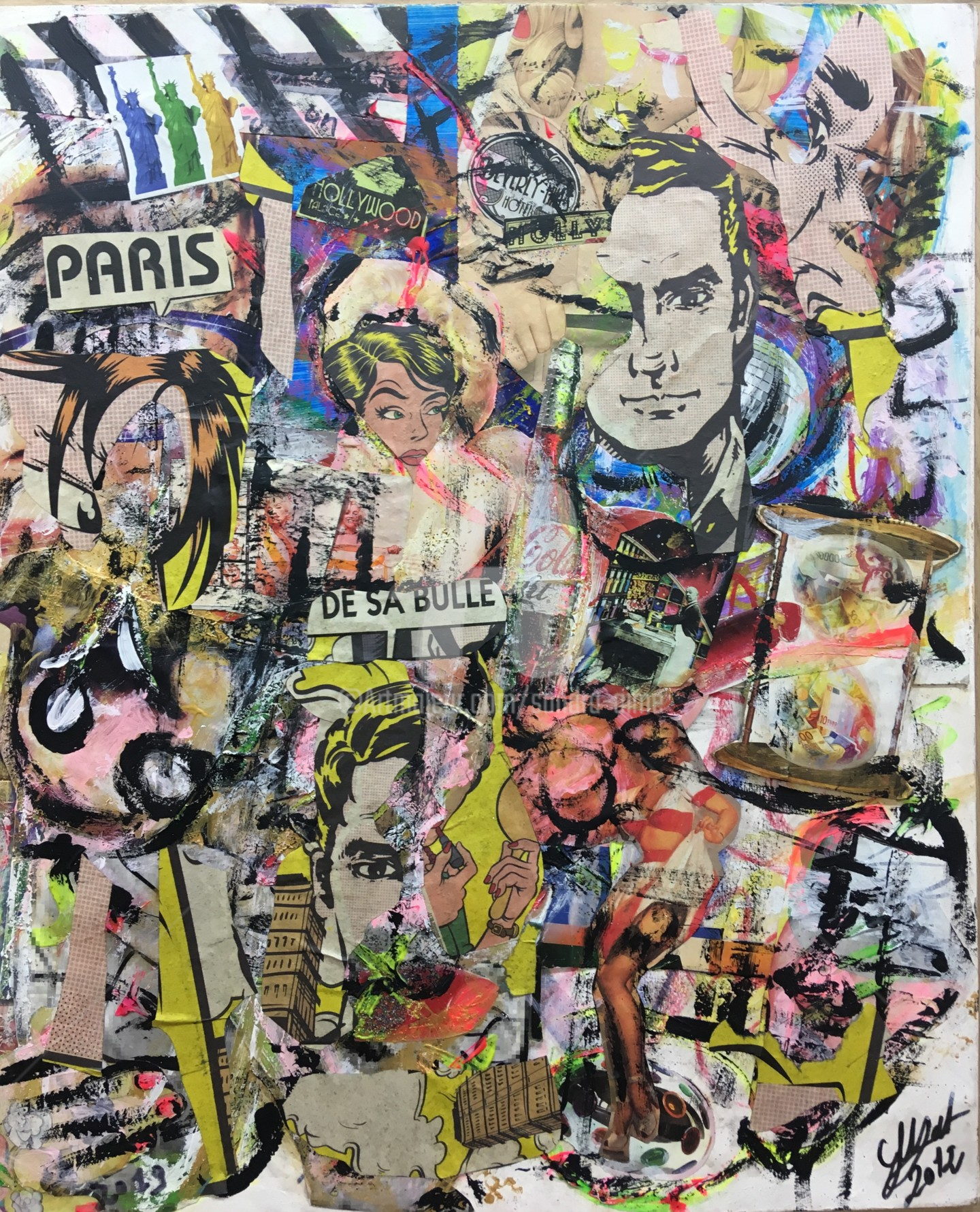 Sandra Aime - «Paris vue d'Hollywood»